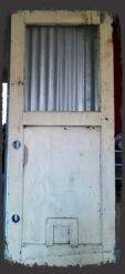 Old wood door Before